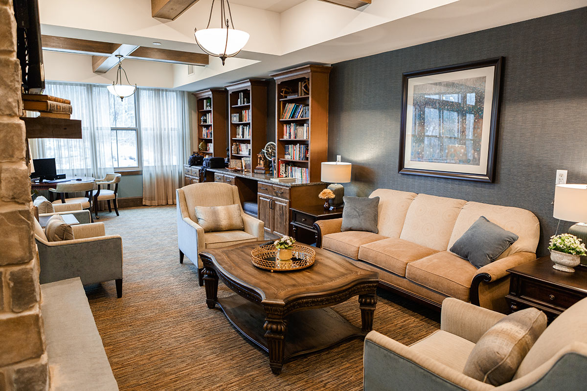 Northshore Senior Living Common Room